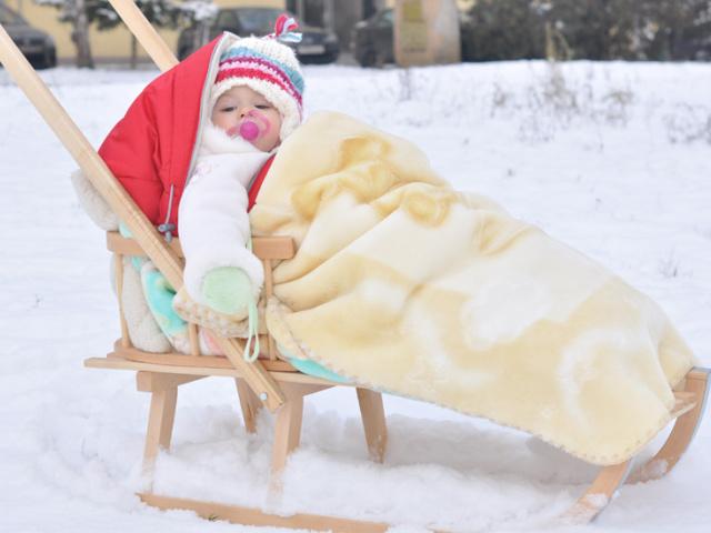Skiurlaub mit dem Baby in den Alpen