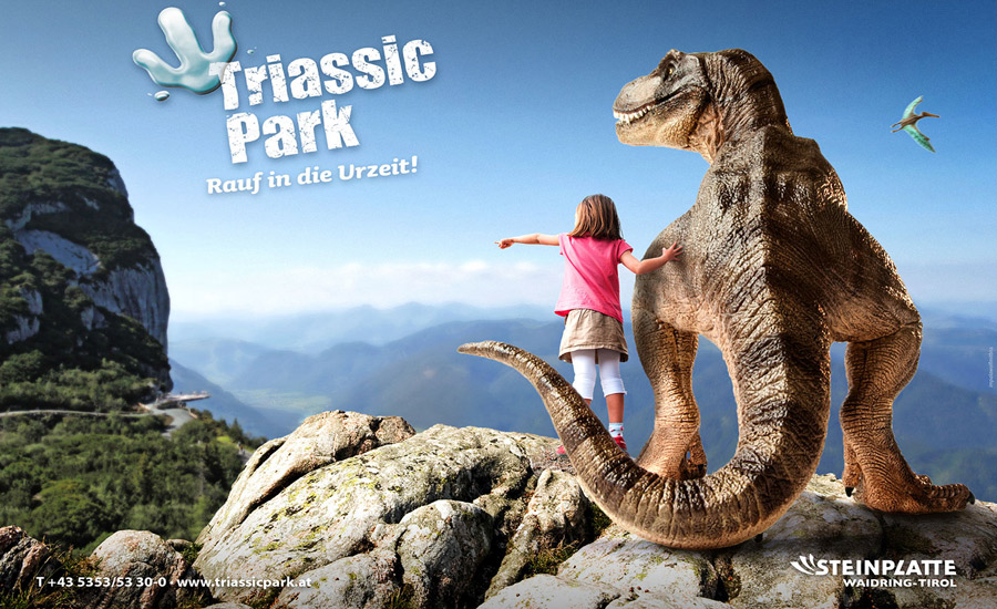 Der Triassic Park mitten in den Tiroler Bergen.